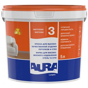 Фарба дисперсійна AURA Lux Pro3 5л