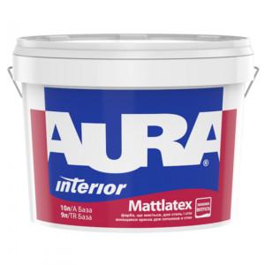 Фарба матова латексна AURA Mattlatex 10л