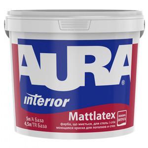 Фарба матова латексна  AURA Mattlatex  5л