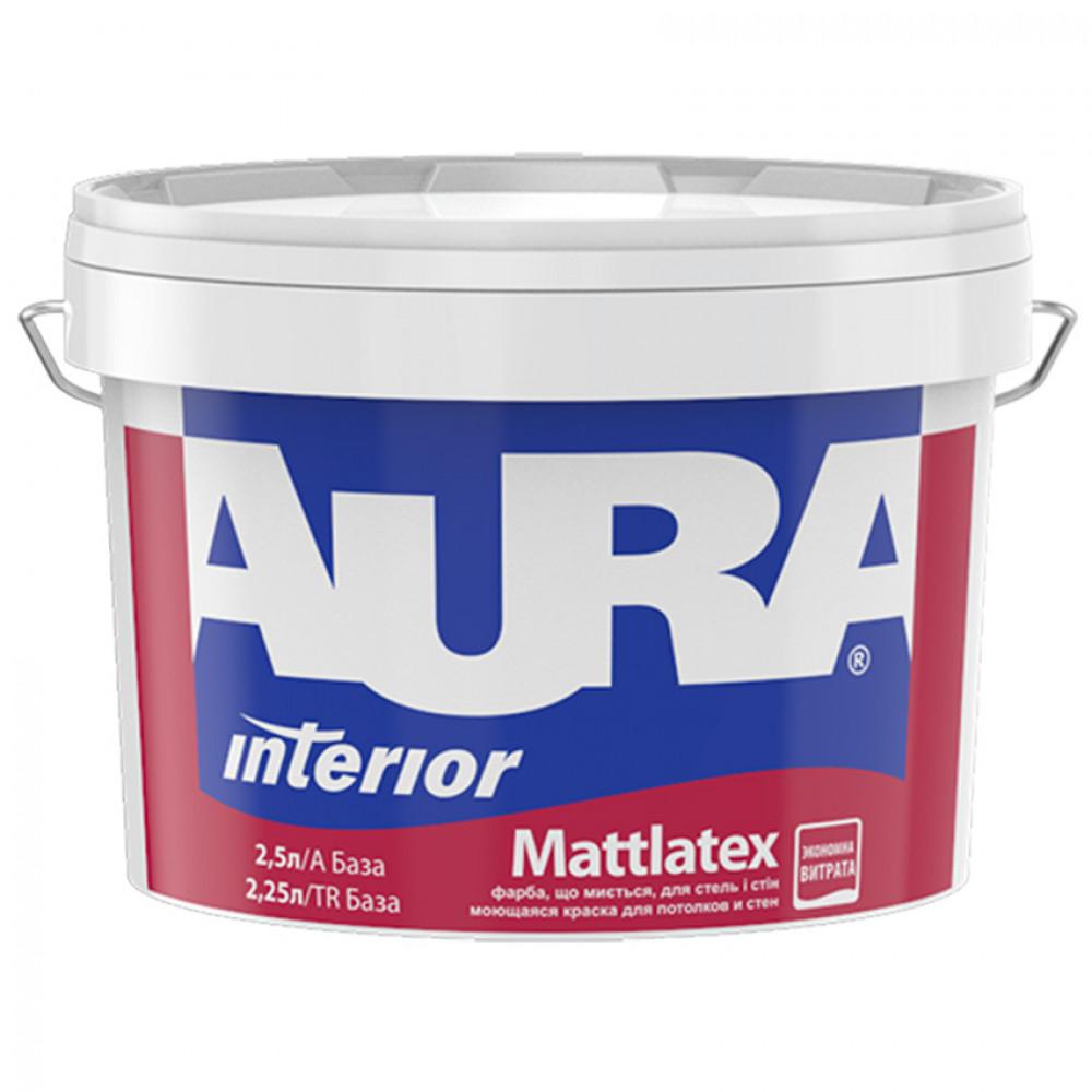 Краска матовая латексная AURA Mattlatex 2,5л