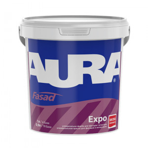 Фарба дисперсійна AURA Fasad Expo 1л