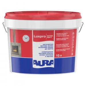 Фарба дисперсійна AURA Lux Pro Extramatt 10л