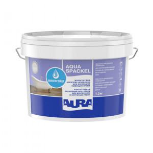 Шпаклівка акрилова вологостійка  Lux Pro Aqua Spackel AURA 1,2кг