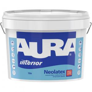 Фарба глибокоматова латексна AURA Neolatex TR 9л