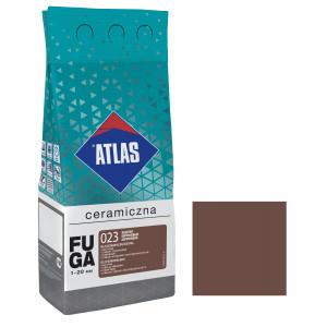 Фуга  ATLAS CERAMICZNA (1-20мм) 023 коричневий 2кг