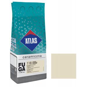 Фуга  ATLAS CERAMICZNA (1-20мм) 118 жасміновий 2кг