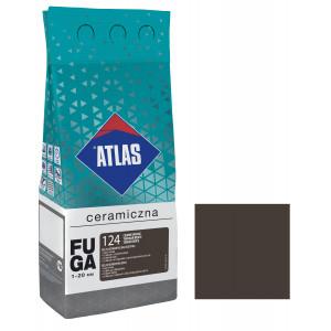 Фуга  ATLAS CERAMICZNA (1-20мм) 124 темний венге 2кг