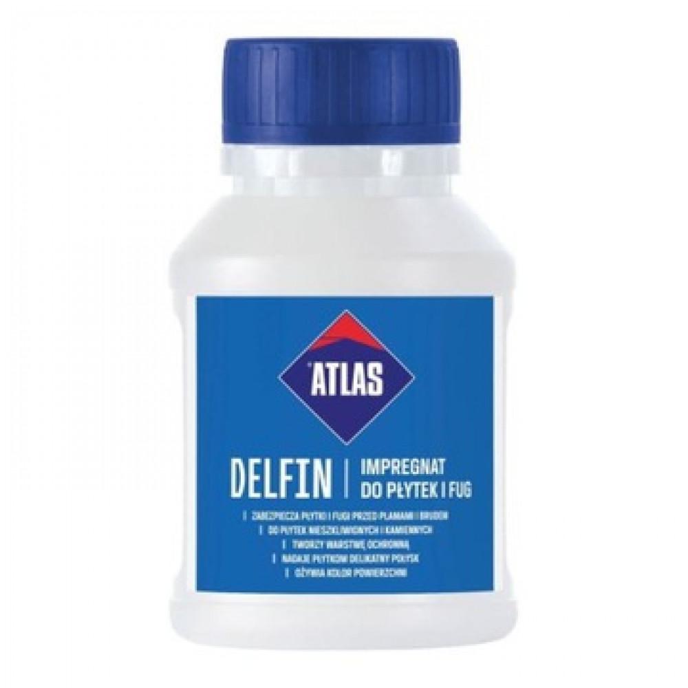 Захисний засіб для швів та неглазурованих плиток АТLAS DELFIN 0,25кг