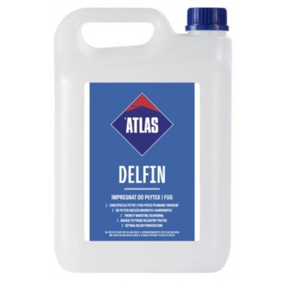 Защитное средство для швов и неглазурированных плиток АТLAS DELFIN 5кг