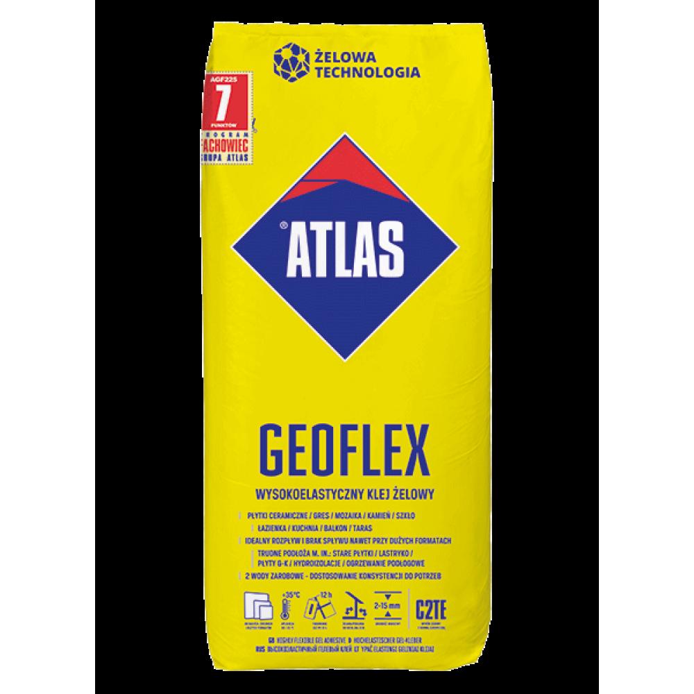 Клей для плитки эластичный ATLAS GEOFLEX 25кг