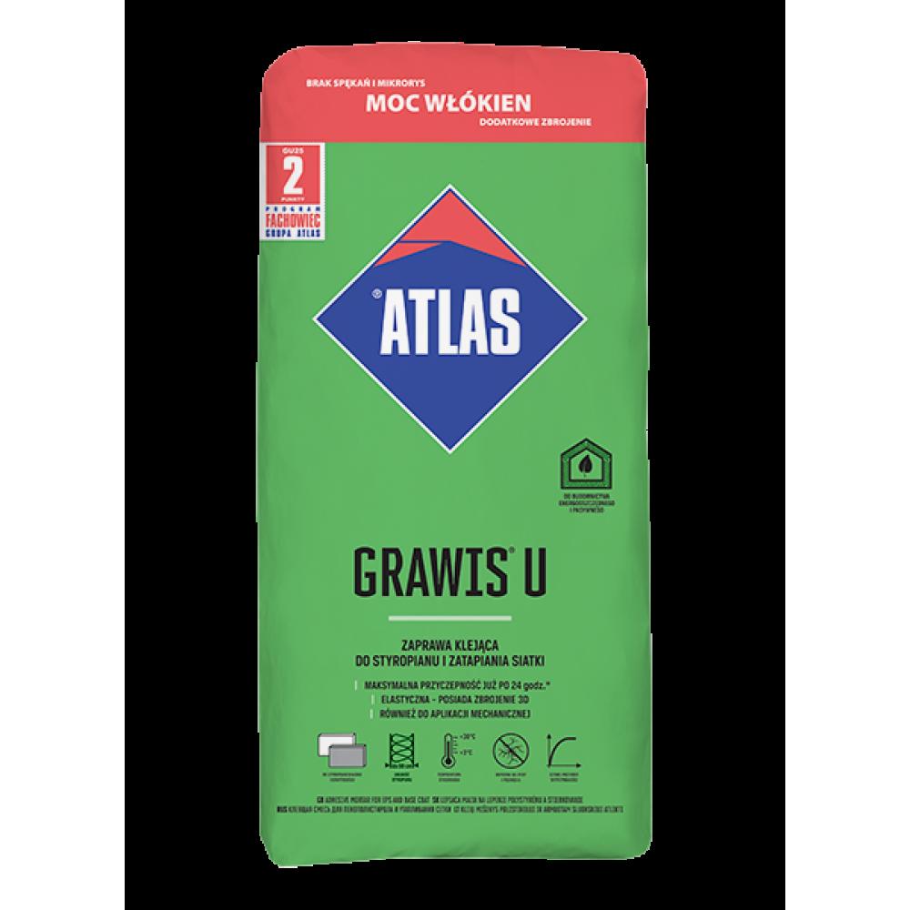 Клей для перетяжки і приклейки ATLAS GRAWIS U 25 кг