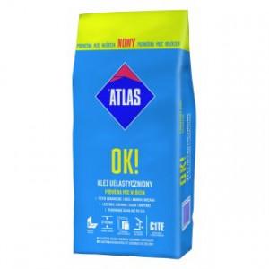 Клей для плитки  еластичний ATLAS ОК! 5кг