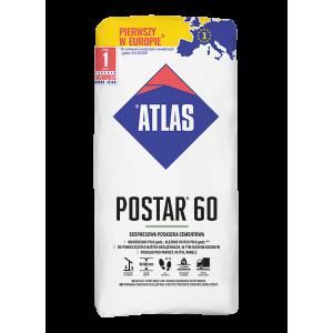Стяжка для підлоги  ATLAS POSTAR 60  25кг