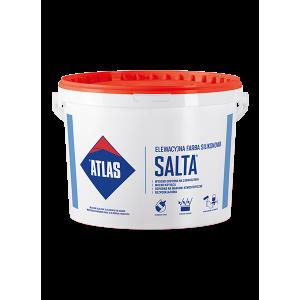 Фарба силіконова модифікована  для фасадів ATLAS SALTA 10л.