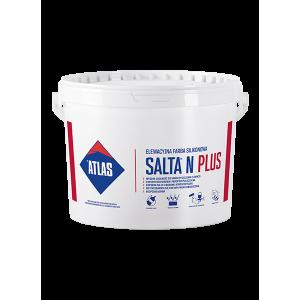 Фарба силіконова  для фасадів ATLAS SALTA N PLUS 10л.