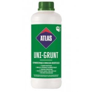 Грунтовка швидковисихаюча емульсія  ATLAS UNI-GRUNT 1кг.