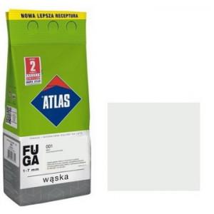 Фуга  АТLAS WASKA (1-7mm) 001 біла 2кг