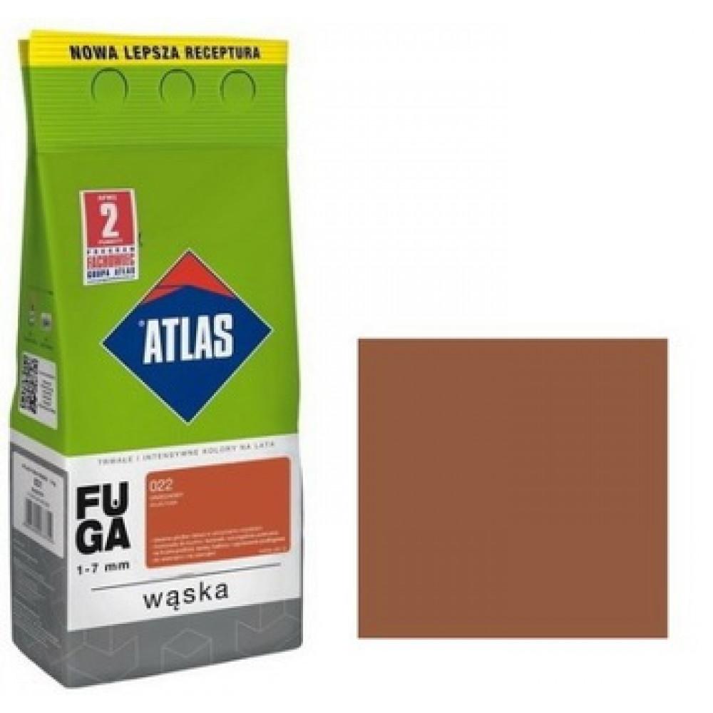 Фуга АТLAS WASKA (1-7mm) 022 ореховый 2кг