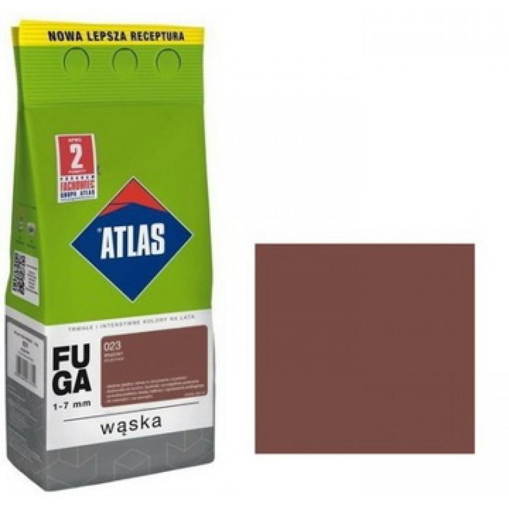 Фуга АТLAS WASKA (1-7mm) 023 коричневый 2 кг