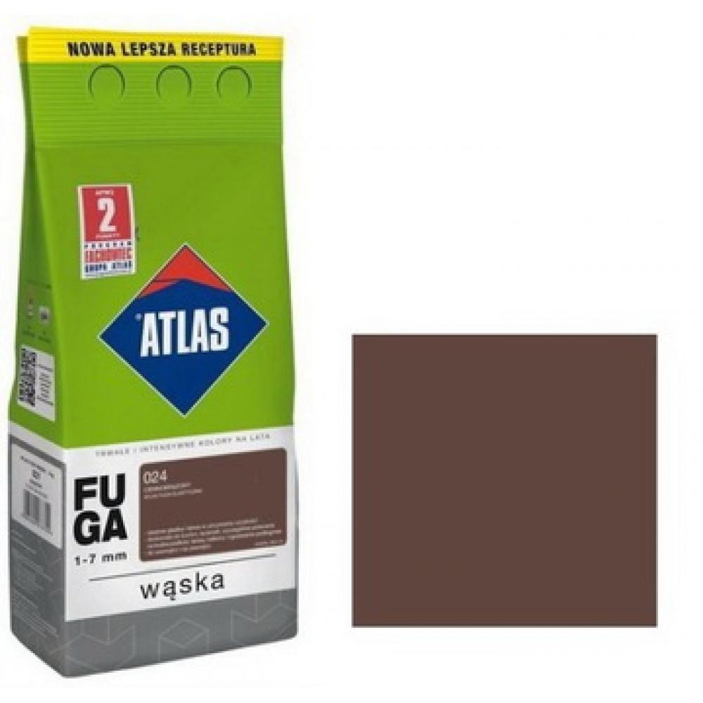Фуга АТLAS WASKA (1-7mm) 024 темно-коричневый 2 кг