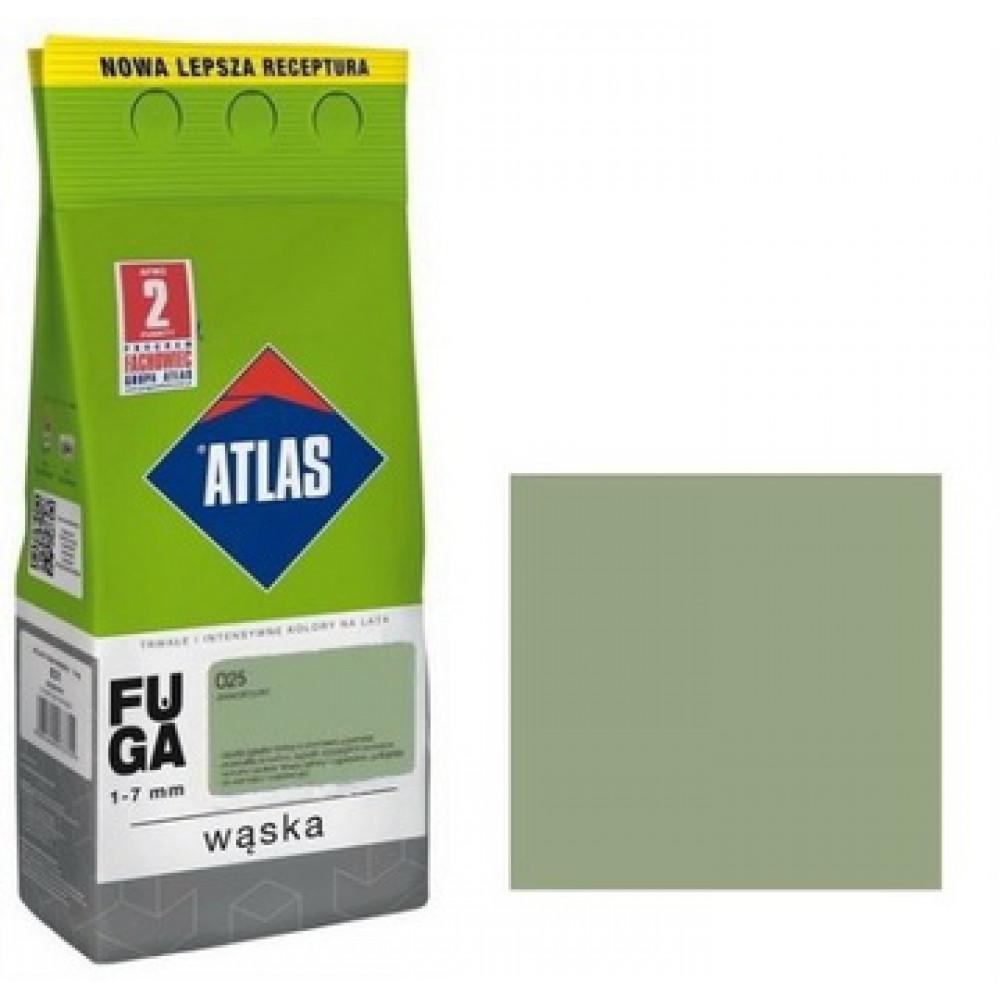 Фуга  АТLAS WASKA (1-7mm) 025 світло-зелений 2кг