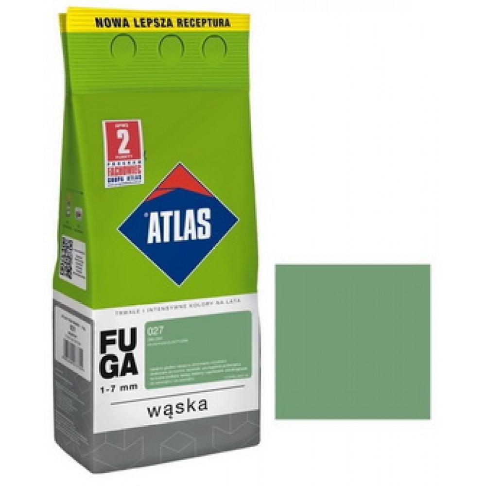 Фуга АТLAS WASKA (1-7mm) 027 зеленый 2кг