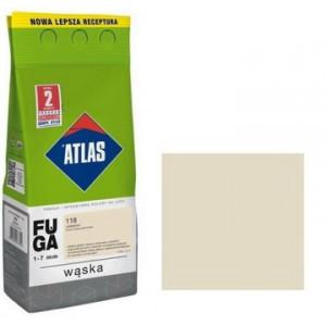 Фуга  АТLAS WASKA (1-7mm) 118 жасминовий 2кг