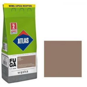 Фуга  АТLAS WASKA (1-7mm) 123 світло-коричневий 2кг