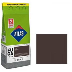 Фуга  АТLAS WASKA (1-7mm) 124 темний венге 2кг