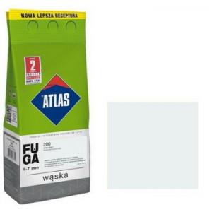 Фуга  АТLAS WASKA (1-7mm) 200 холодний білий 2кг