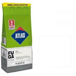 Фуга  АТLAS WASKA (1-7mm) 201 теплий білий 2кг
