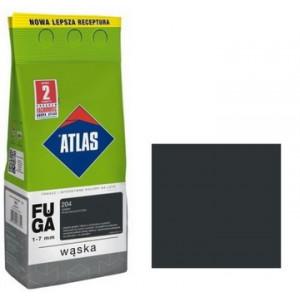 Фуга  АТLAS WASKA (1-7mm) 204 чорний 2кг