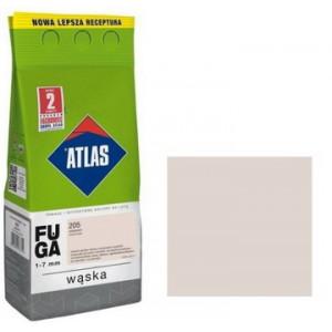 Фуга  АТLAS WASKA (1-7mm) 205 кремовий 2кг