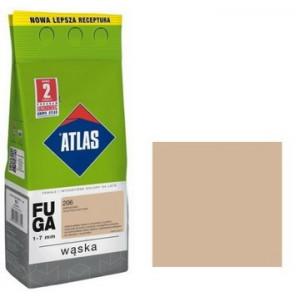 Фуга  АТLAS WASKA (1-7mm) 206 капучіно 2кг