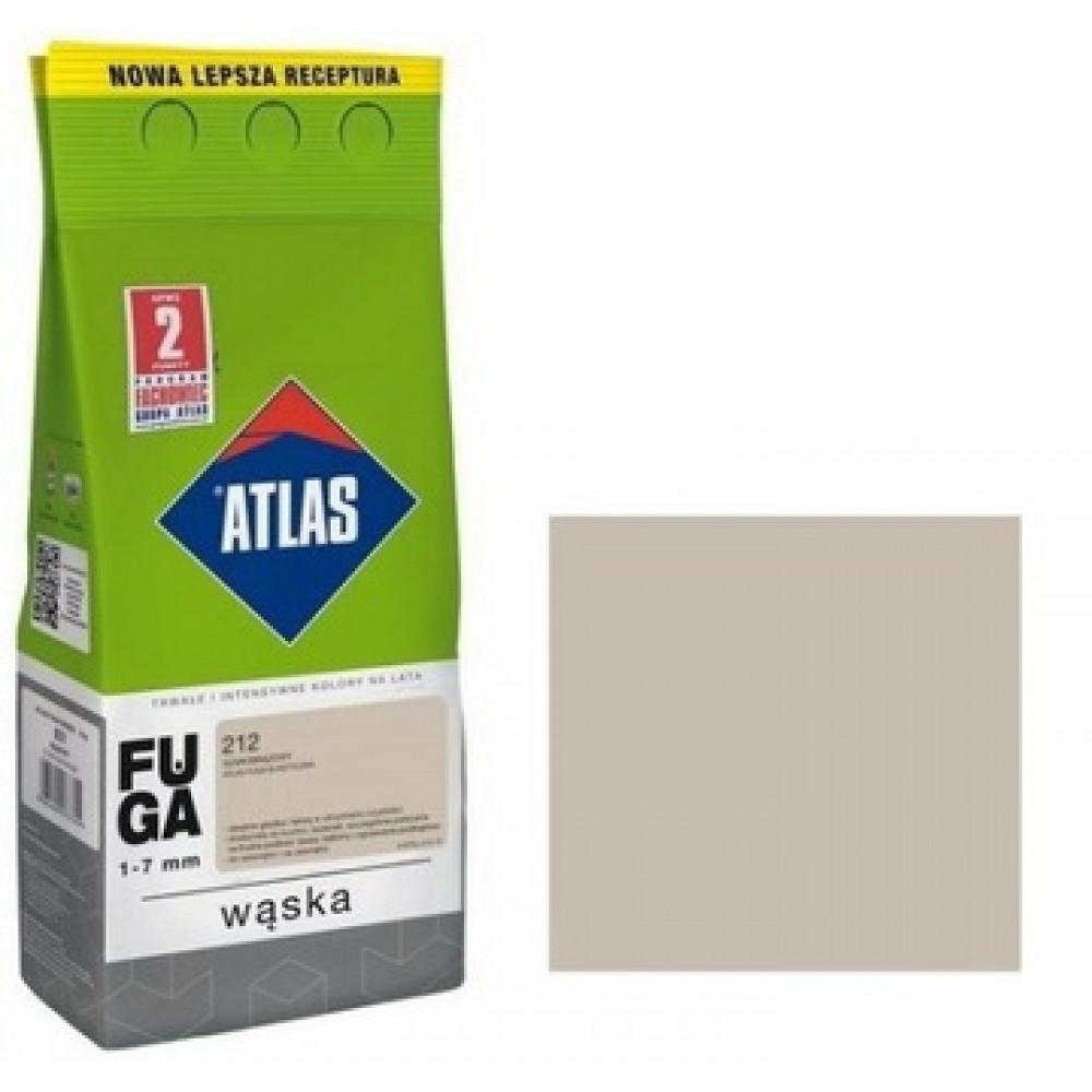 Фуга  АТLAS WASKA (1-7mm) 212 сіро-коричневий 2кг