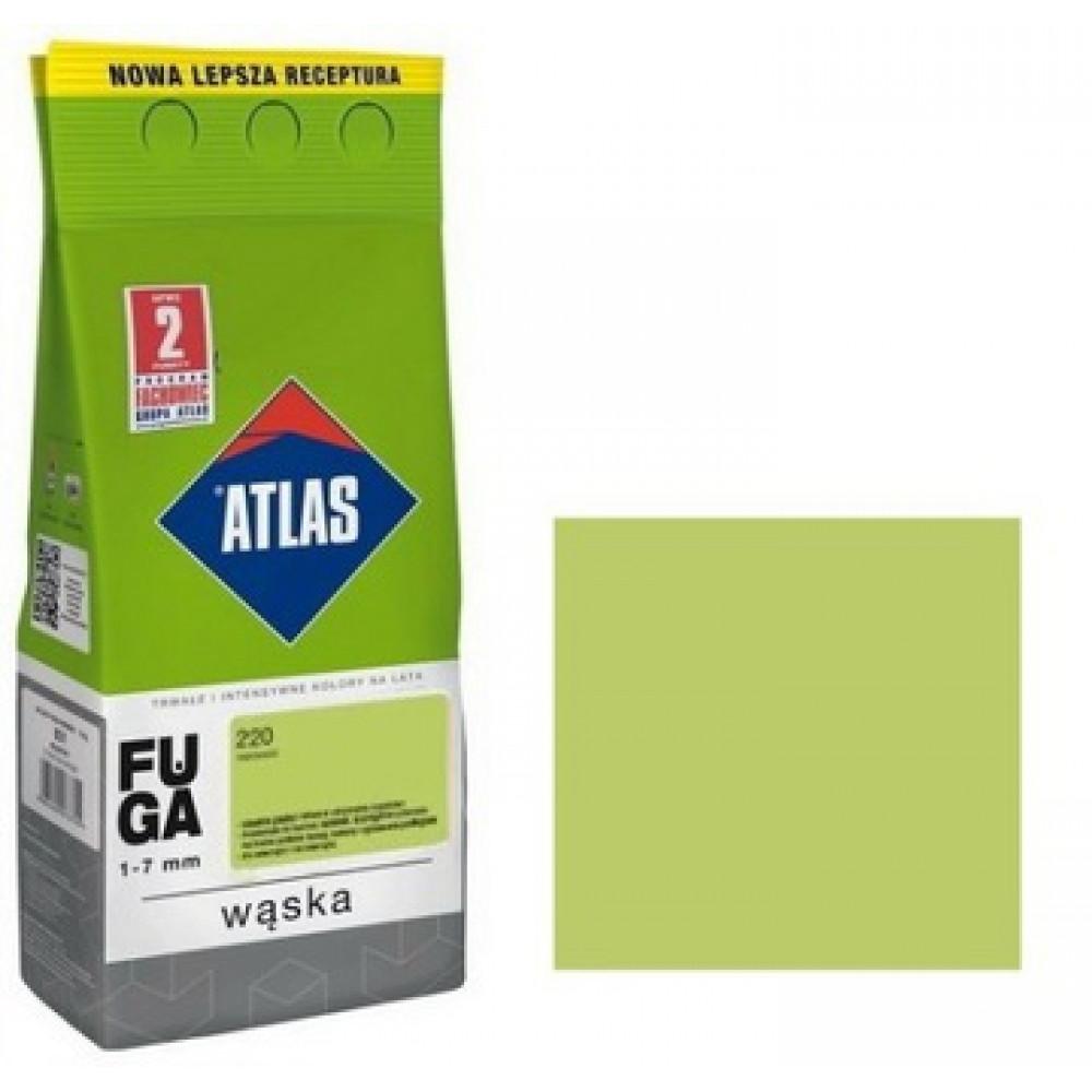 Фуга АТLAS WASKA (1-7mm) 220 авокадо folia 2кг