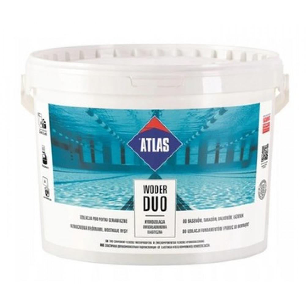 Гидроизоляционная смесь двухкомпонентная ATLAS WODER DUO 16кг