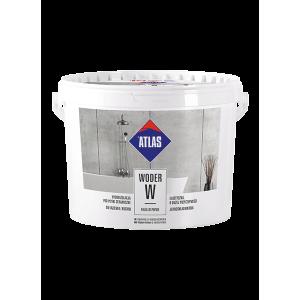 Гідроізоляція еластична однокомпонентна  ATLAS WODER W (1-3)  4,5 кг