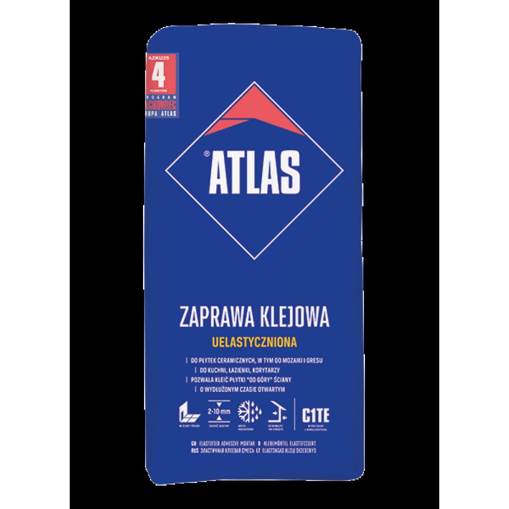 Клей для плитки еластичний  АТLAS UNIWERSALNY 25кг