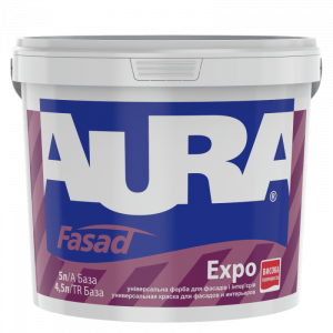 Фарба дисперсійна AURA Fasad Expo 5л