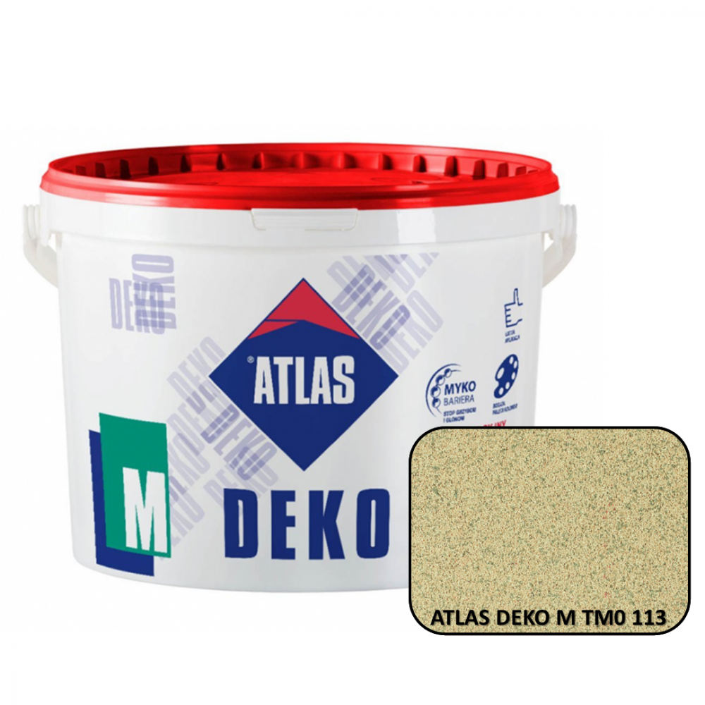 Декоративная мозаичная штукатурка ATLAS DEKO М0 113 25кг.