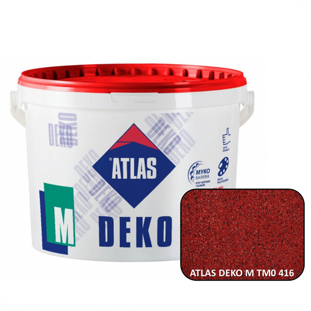 Декоративна мозаїчна штукатурка ATLAS DEKO М0 416 25кг.