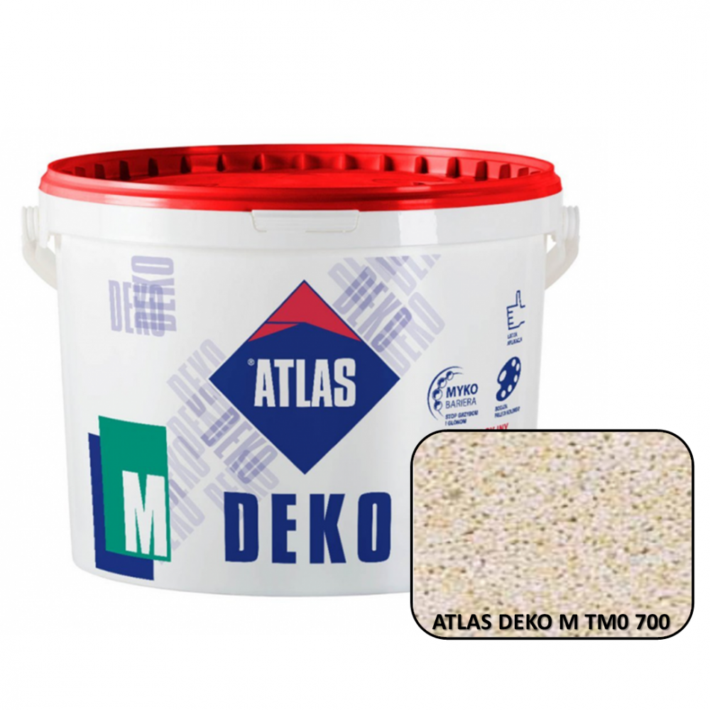 Декоративная мозаичная штукатурка ATLAS DEKO М0 700 25кг.