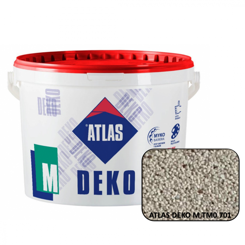 Декоративна мозаїчна штукатурка ATLAS DEKO М0  701 25кг.