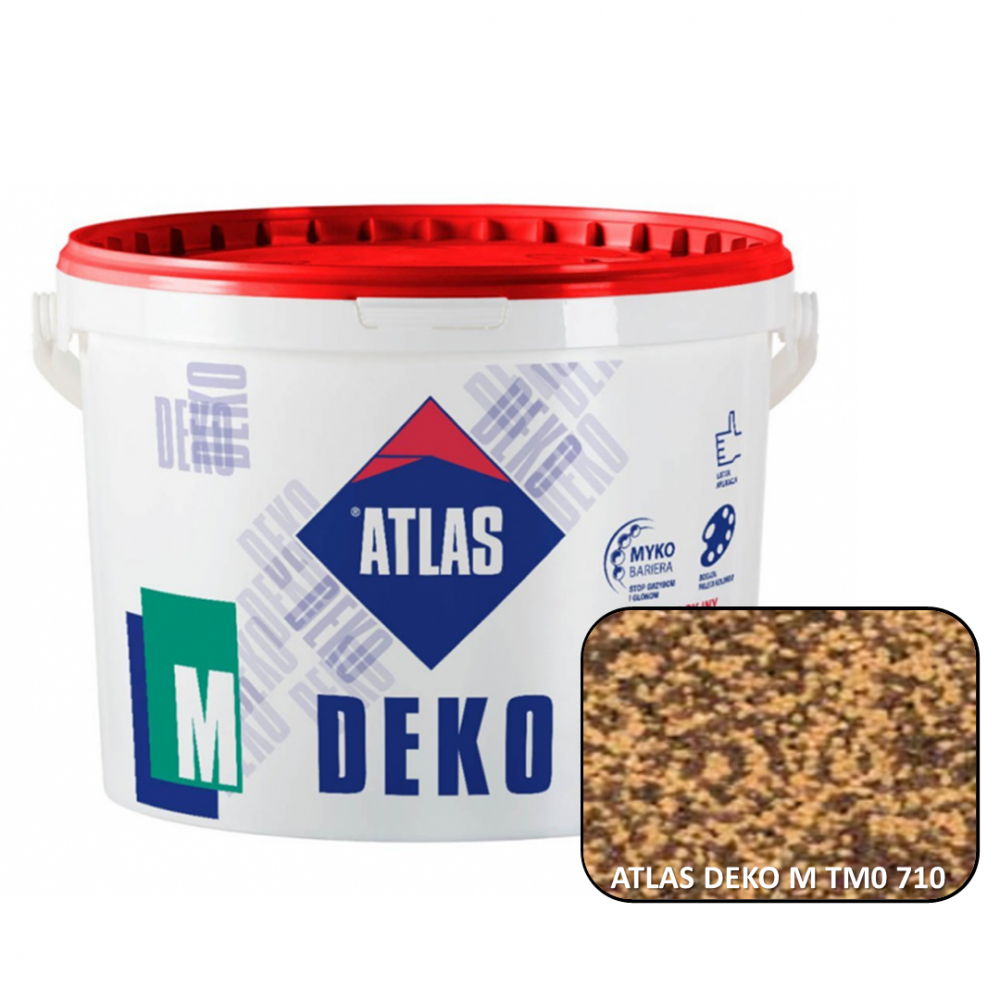 Декоративна мозаїчна штукатурка ATLAS DEKO М0  710 25кг.