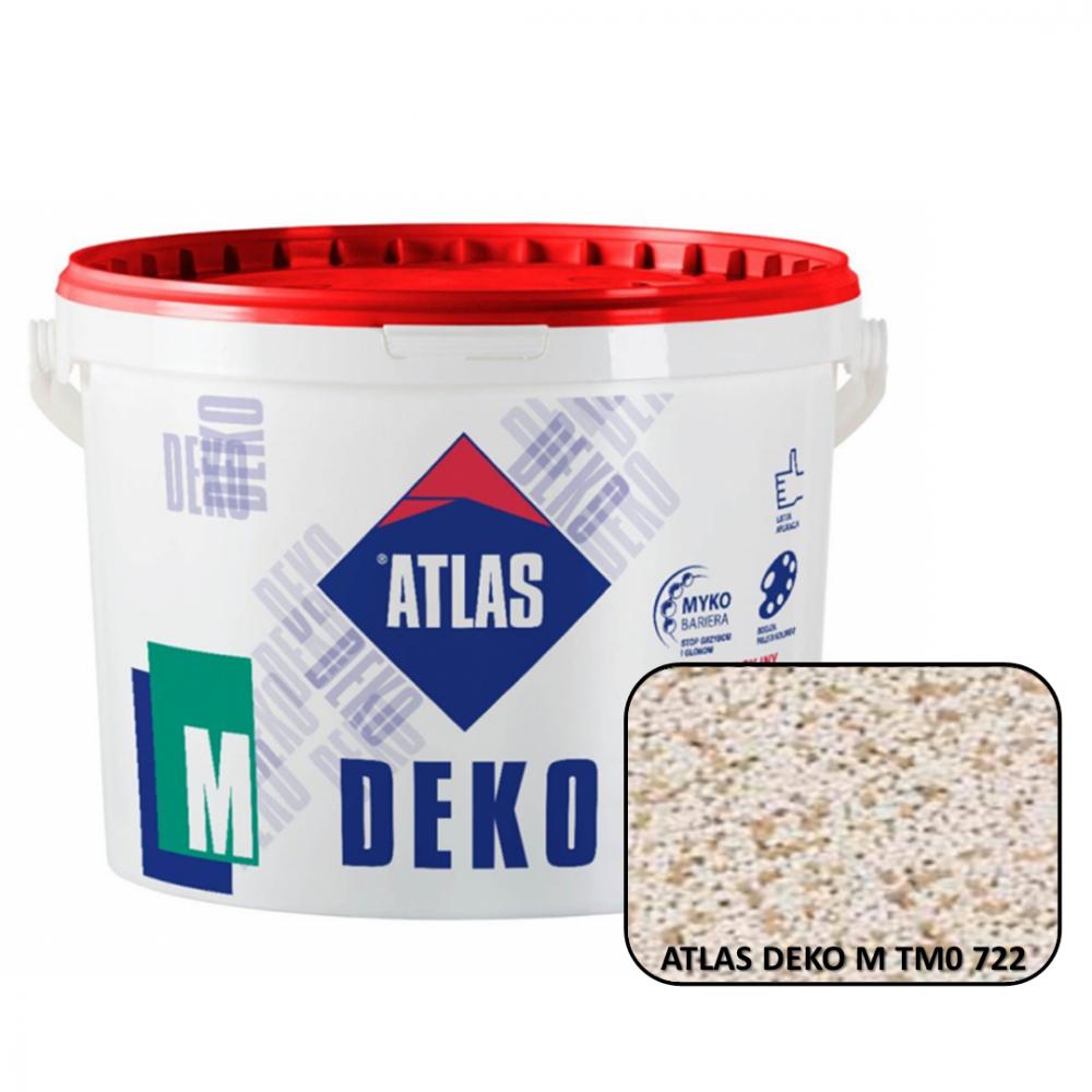 Декоративная мозаичная штукатурка ATLAS DEKO М0 722 25кг.