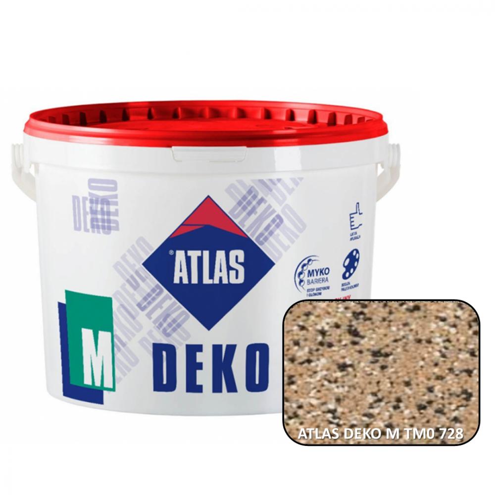 Декоративная мозаичная штукатурка ATLAS DEKO М0 728 25кг.