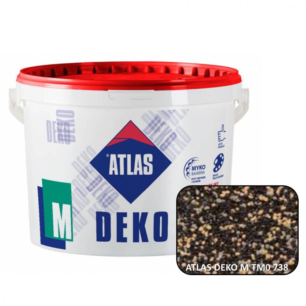 Декоративна мозаїчна штукатурка ATLAS DEKO М0  738 25кг.
