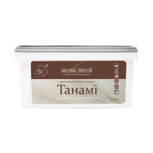 Декоративна штукатурка Танамі Silver Ірком 3,5кг