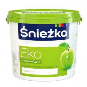 Фарба Sniezka Eko люкс біла Польща 1л
